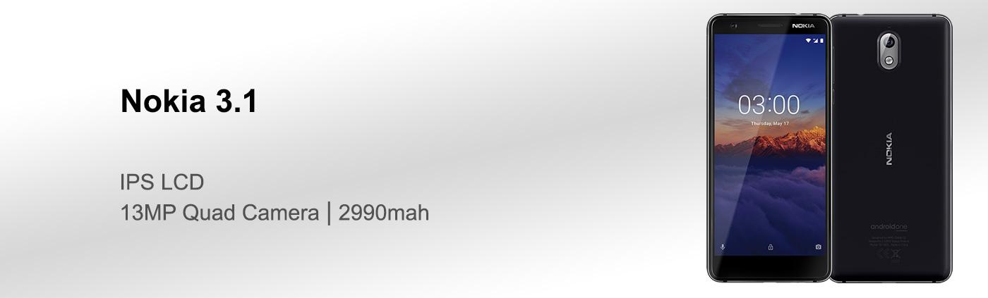 بررسی گوشی نوکیا 3.1