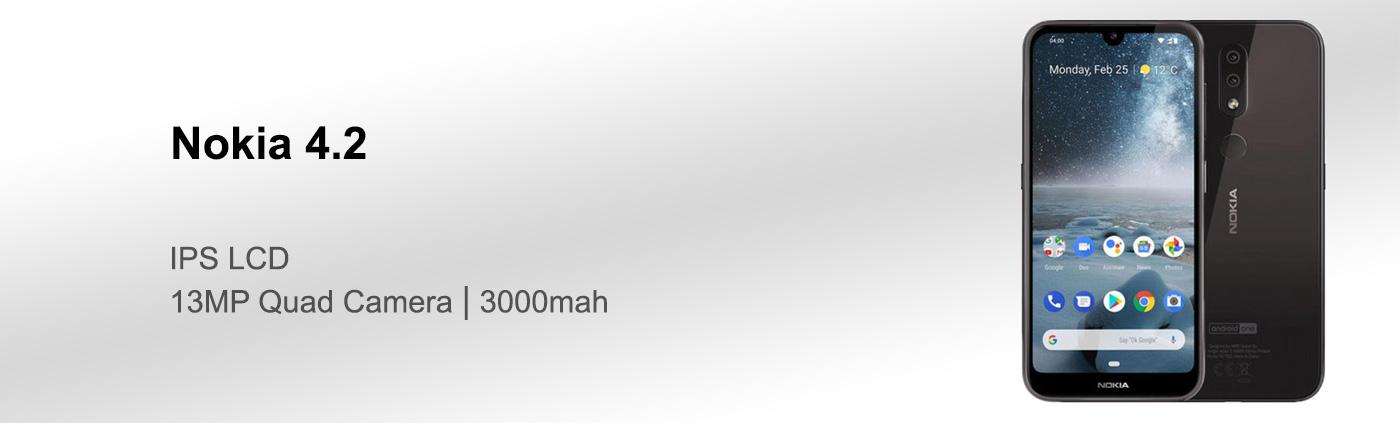 بررسی گوشی نوکیا 4.2