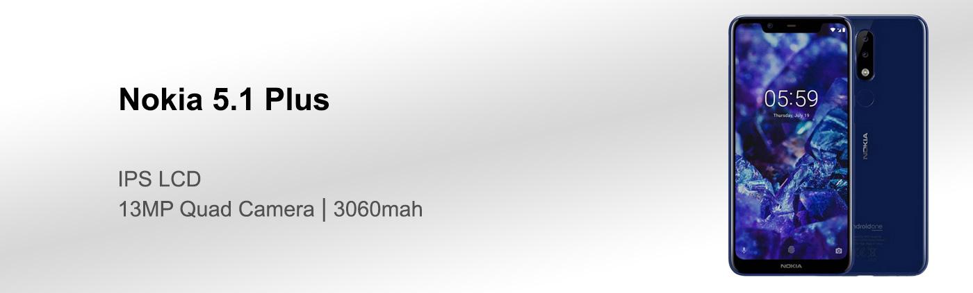 بررسی گوشی نوکیا 5.1 پلاس