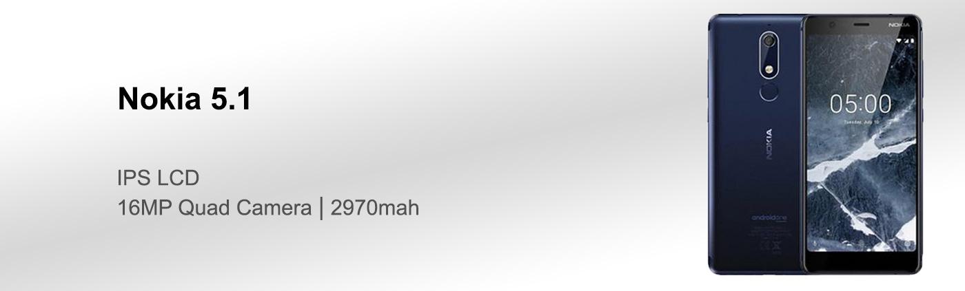 بررسی گوشی نوکیا 5.1