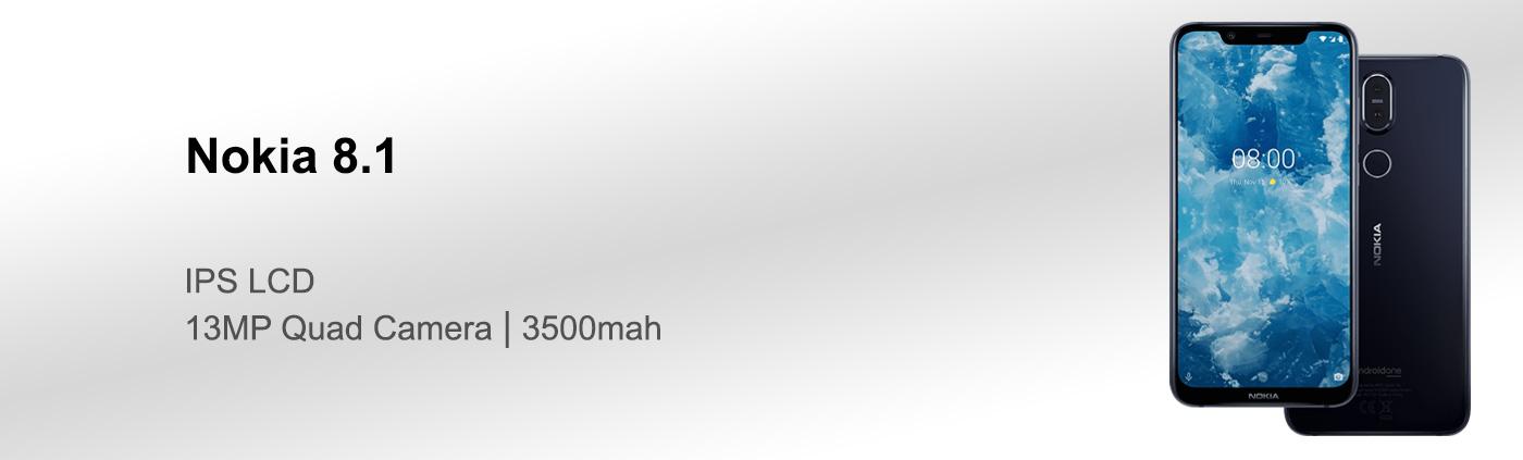بررسی گوشی Nokia 8.1