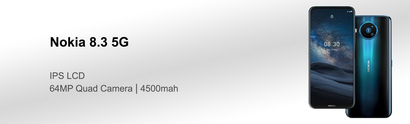 بررسی گوشی Nokia 8.3 5G