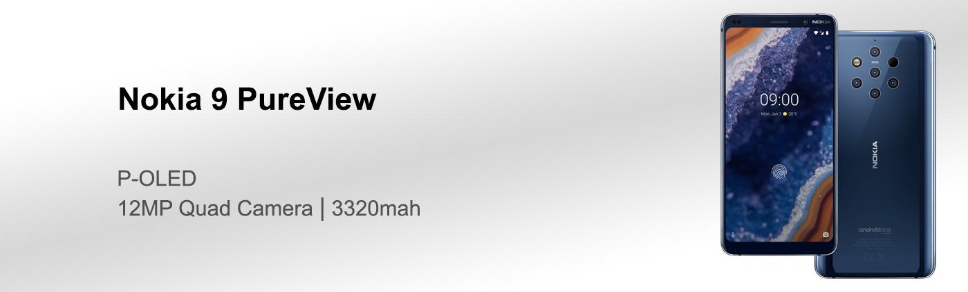 بررسی گوشی Nokia 9 PureView