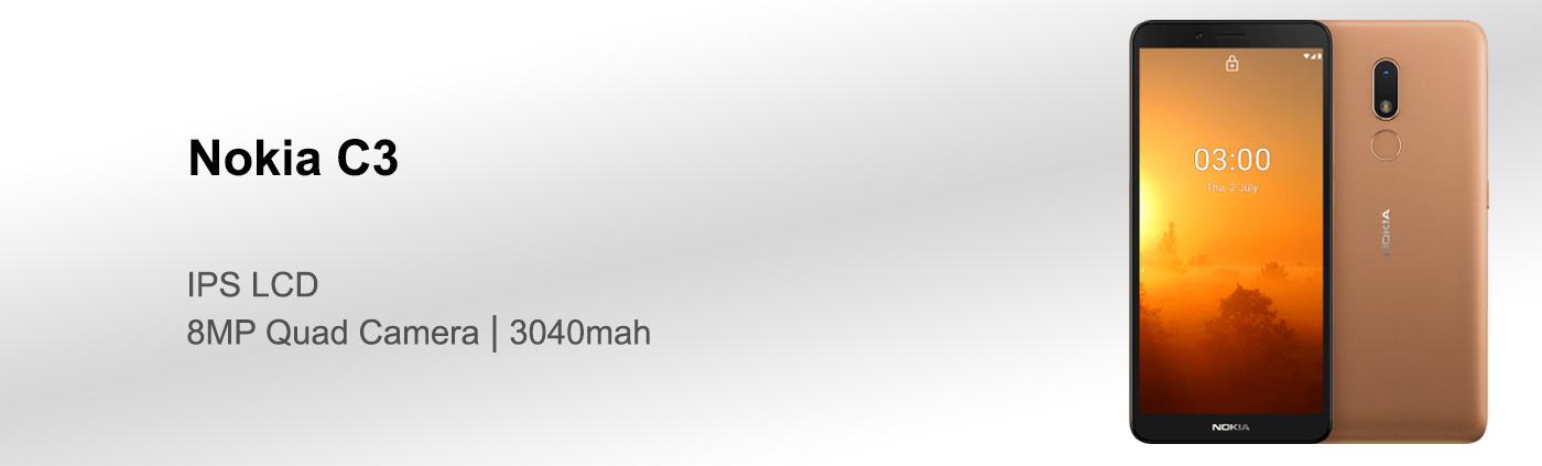 بررسی گوشی نوکیا C3 نسخه 32 گیگ