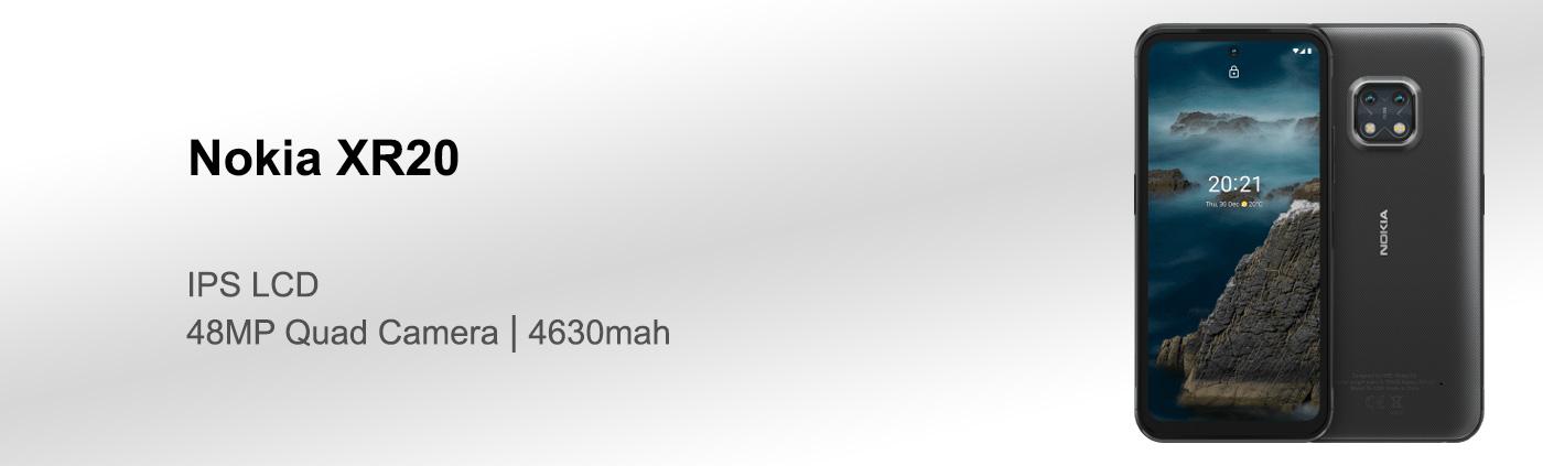 بررسی گوشی Nokia XR20