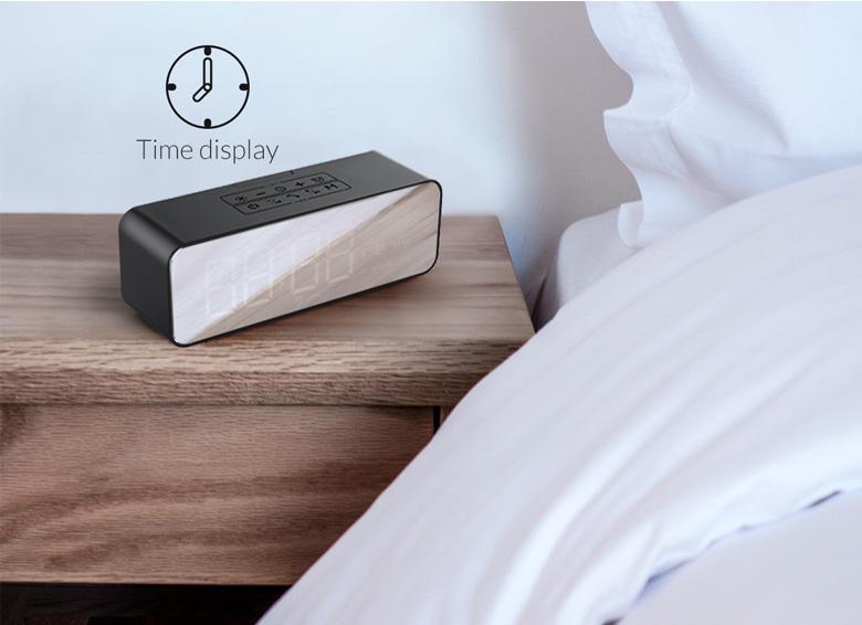 اسپیکر بلوتوثی و قابل حمل Orico SOUNDPLUS-C1 با ساعت زنگدار