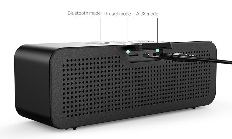 نمای پشت اسپیکر بلوتوثی و قابل حمل Orico SOUNDPLUS-C1