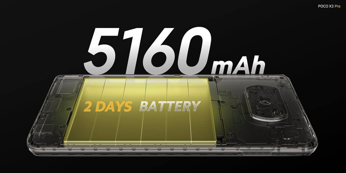 پوکو X3 Pro مجهز به باتری 5160 میلیآمپرساعتی