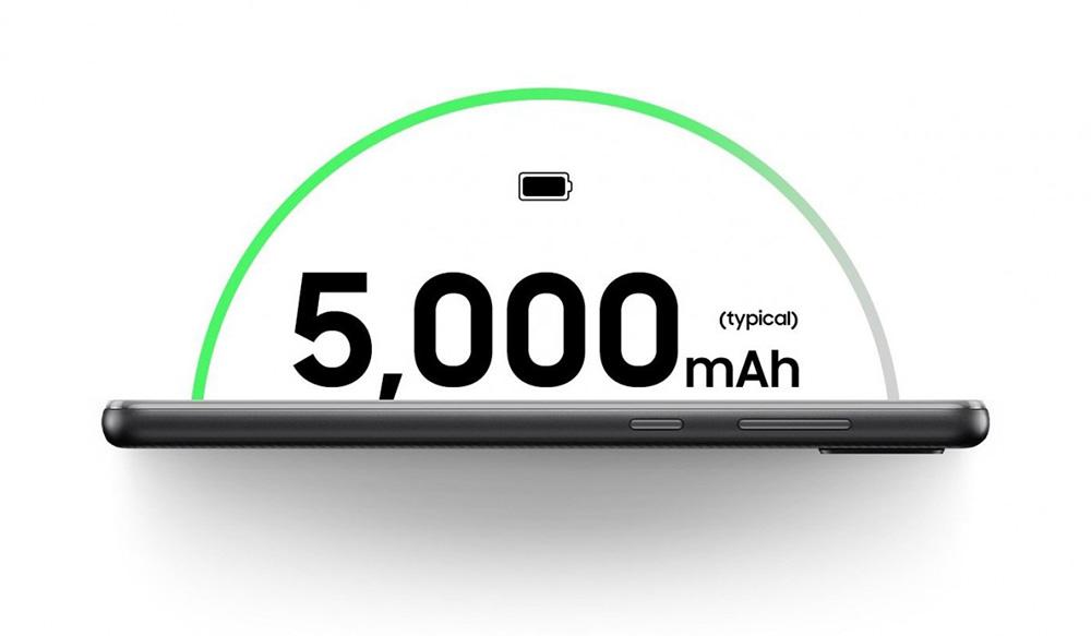 سامسونگ گلکسی A02 مجهز به  باتری قدرتمند 5000 میلیآمپرساعتی