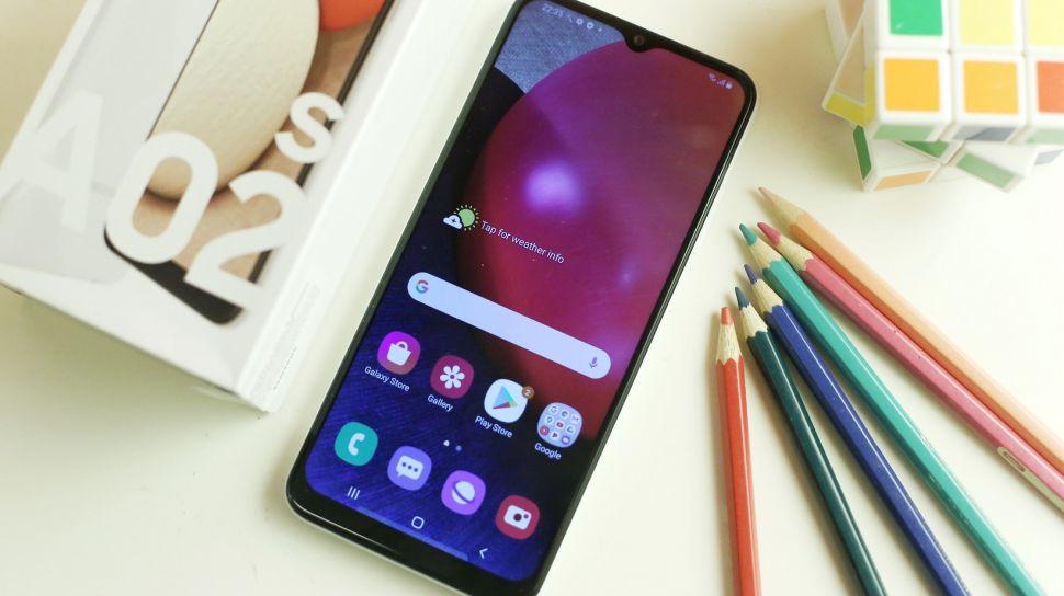 گوشی سامسونگ Galaxy A02 مجهز به سیستم تشخصی چهره