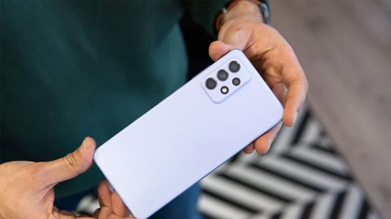 قیمت گوشی موبایل سامسونگ مدل Galaxy A72