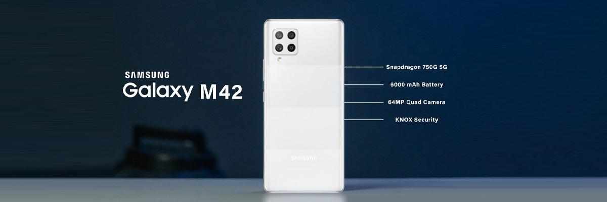 قیمت و مشخصات گوشی موبایل سامسونگ مدل Galaxy M42 5G