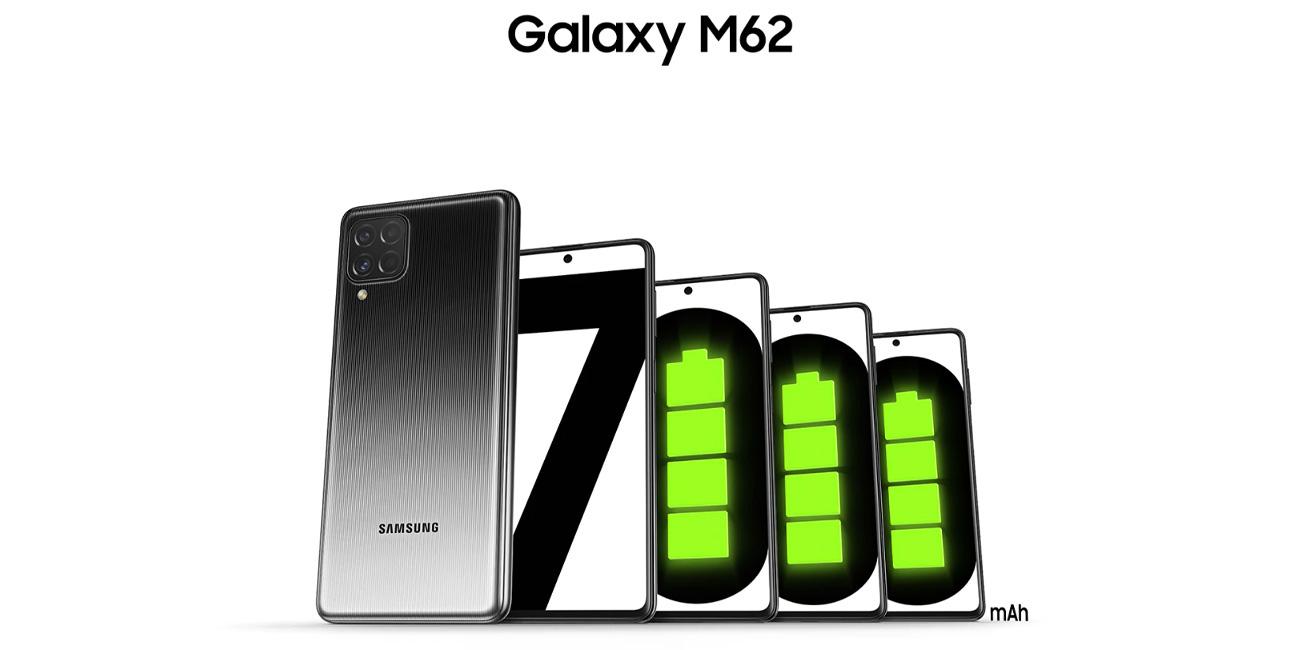 گوشی موبایل سامسونگ گلکسی M62