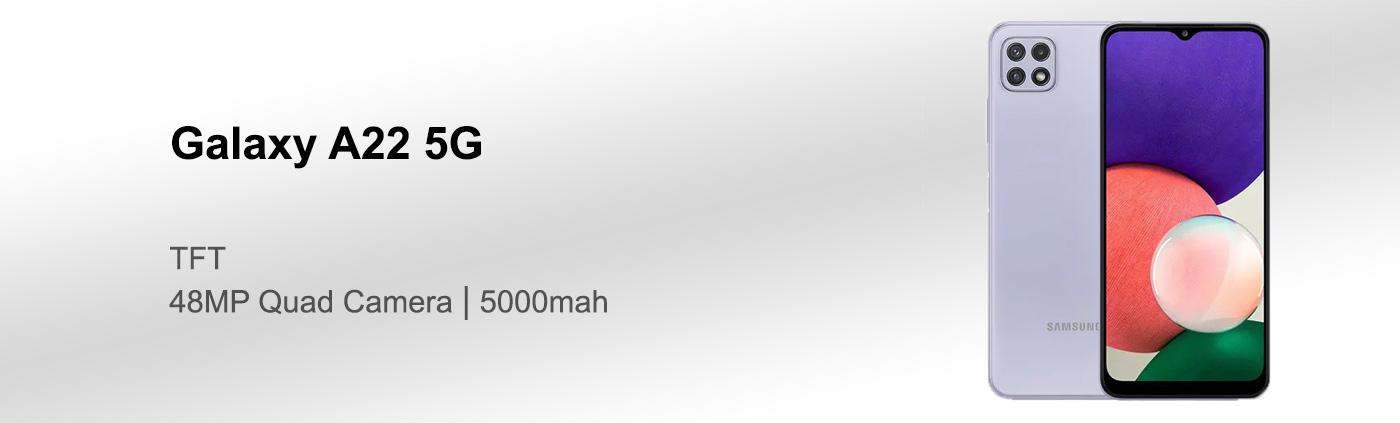 بررسی گوشی سامسونگ A22 5G