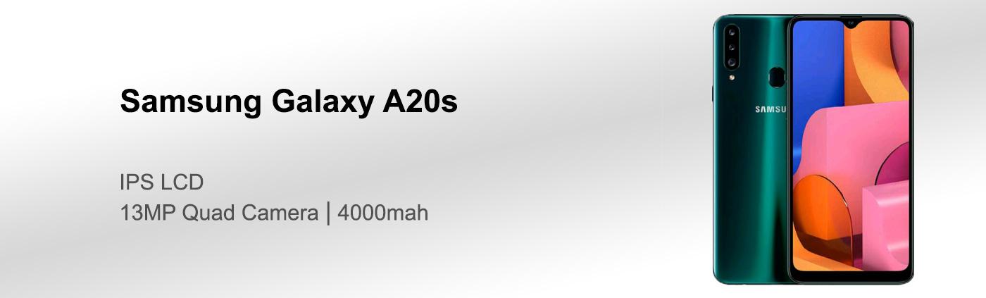 قیمت گوشی سامسونگ A20s