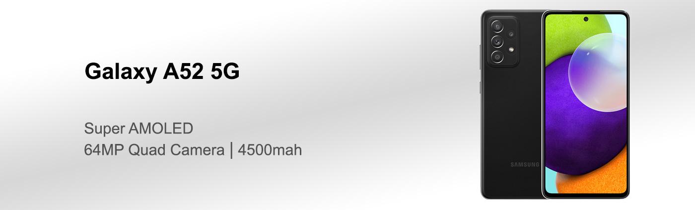 بررسی گوشی سامسونگ A52 5G