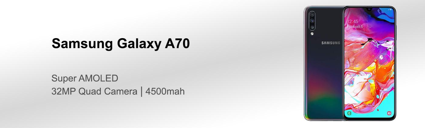 بررسی گوشی سامسونگ A70