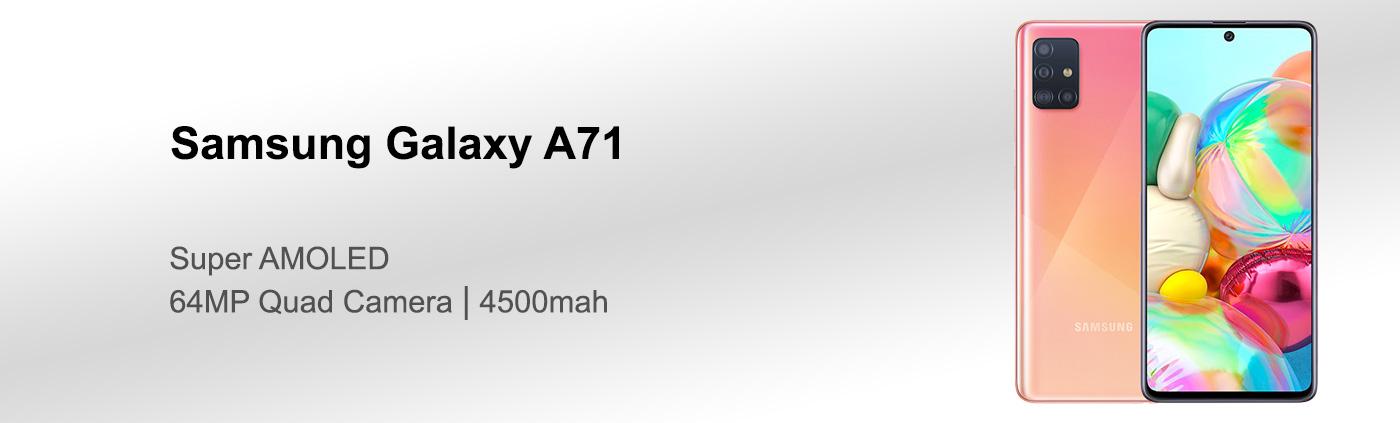 بررسی گوشی سامسونگ A71
