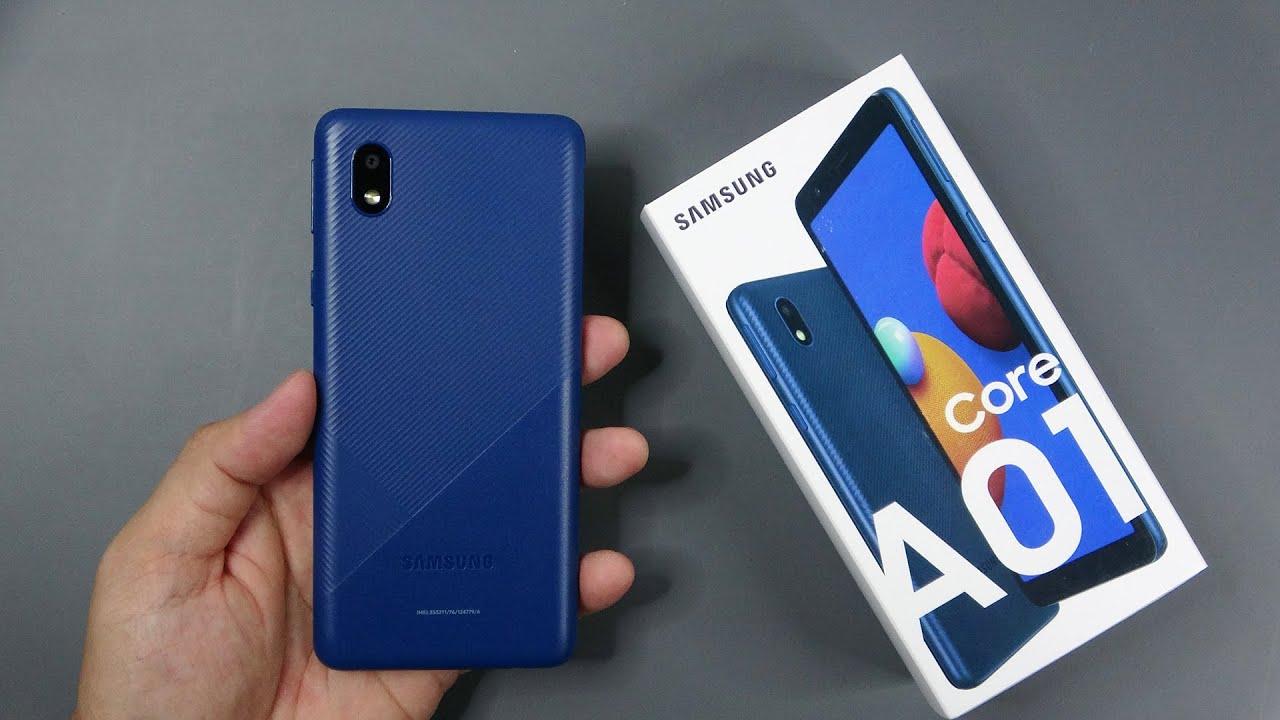 قیمت و مشخصات گوشی موبایل سامسونگ مدل Galaxy A01 Core 16GB 1GB RAM