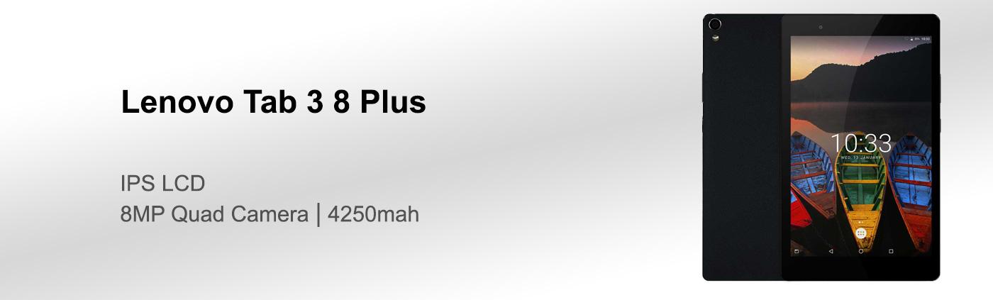 بررسی تبلت لنوو Tab 3 8 Plus