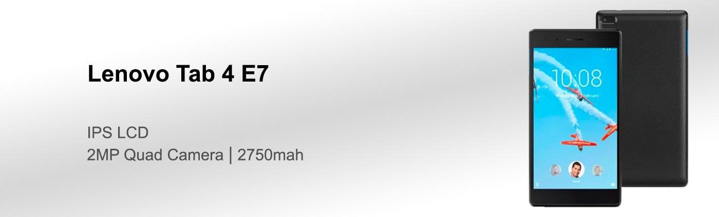 بررسی تبلت لنوو tab 4 E7