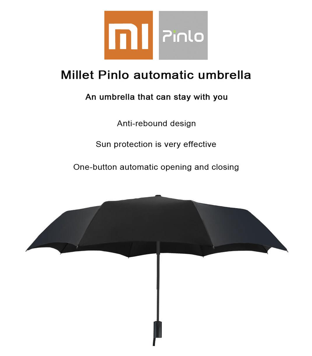 قیمت و مشخصات چتر اتوماتیک شیائومی مدل Pinlo PLZDS01XM