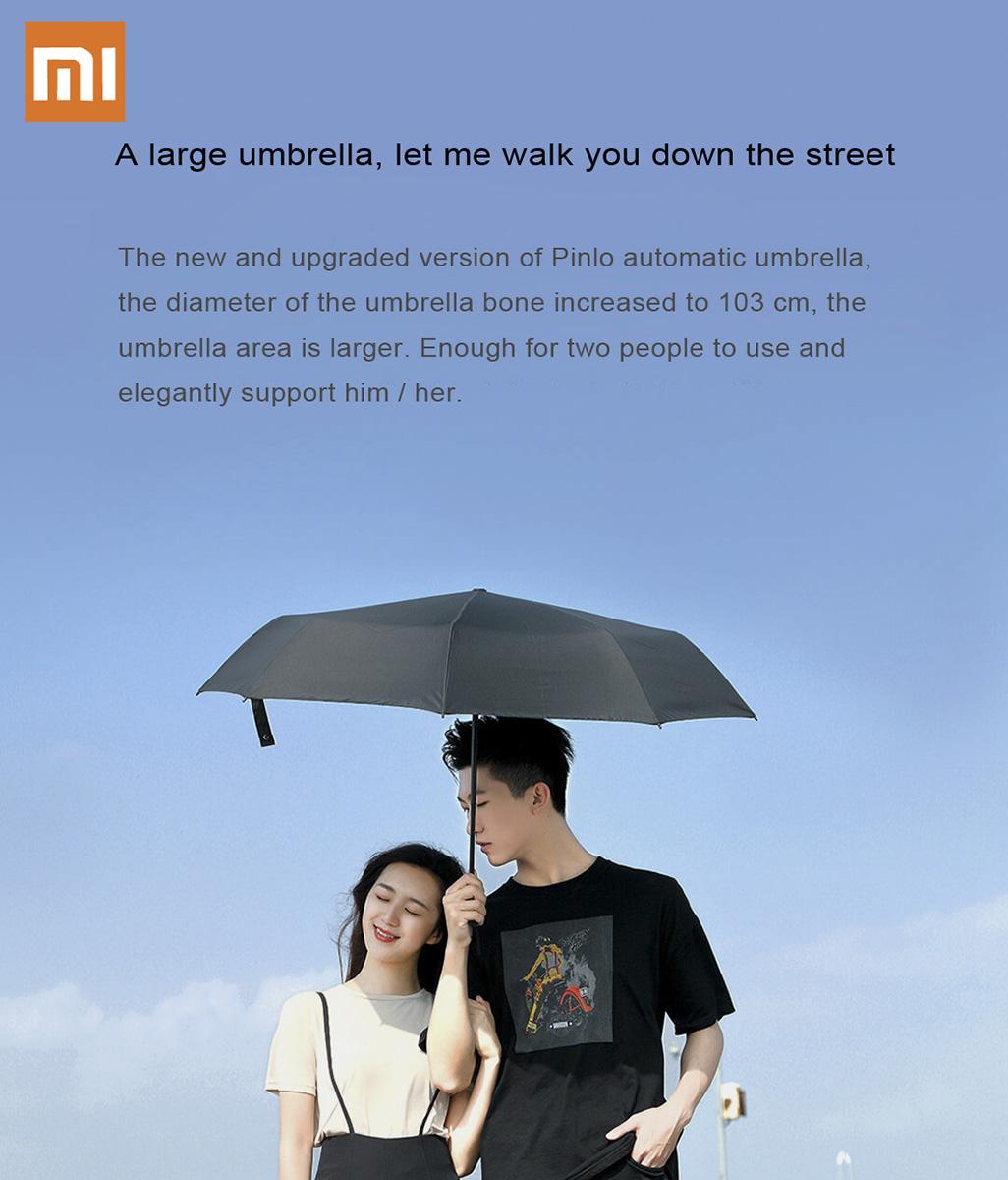 چتر شیائومی با ابعاد بزرگ