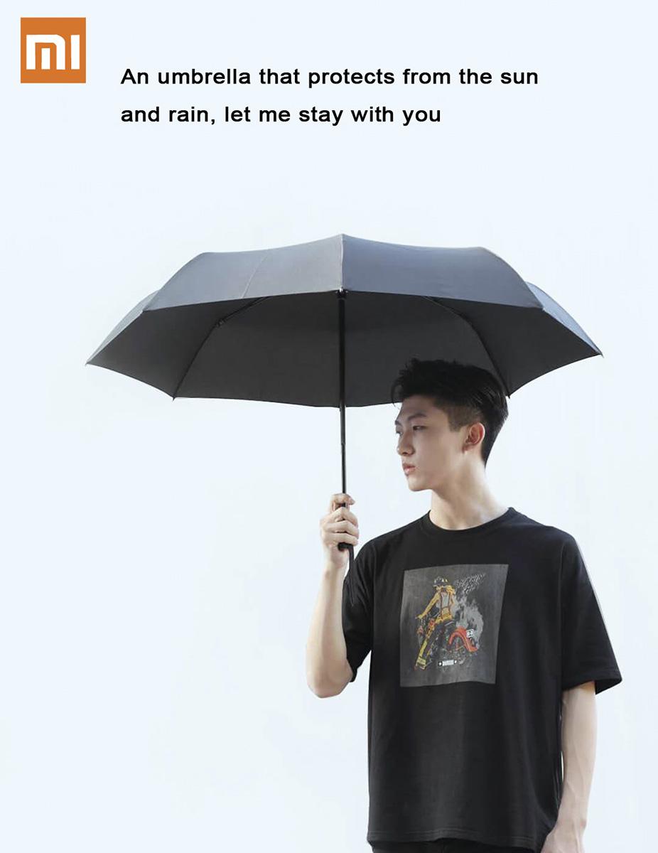 چتر شیائومی مدل Pinlo محافظ در برابر آفتاب، باد و باران