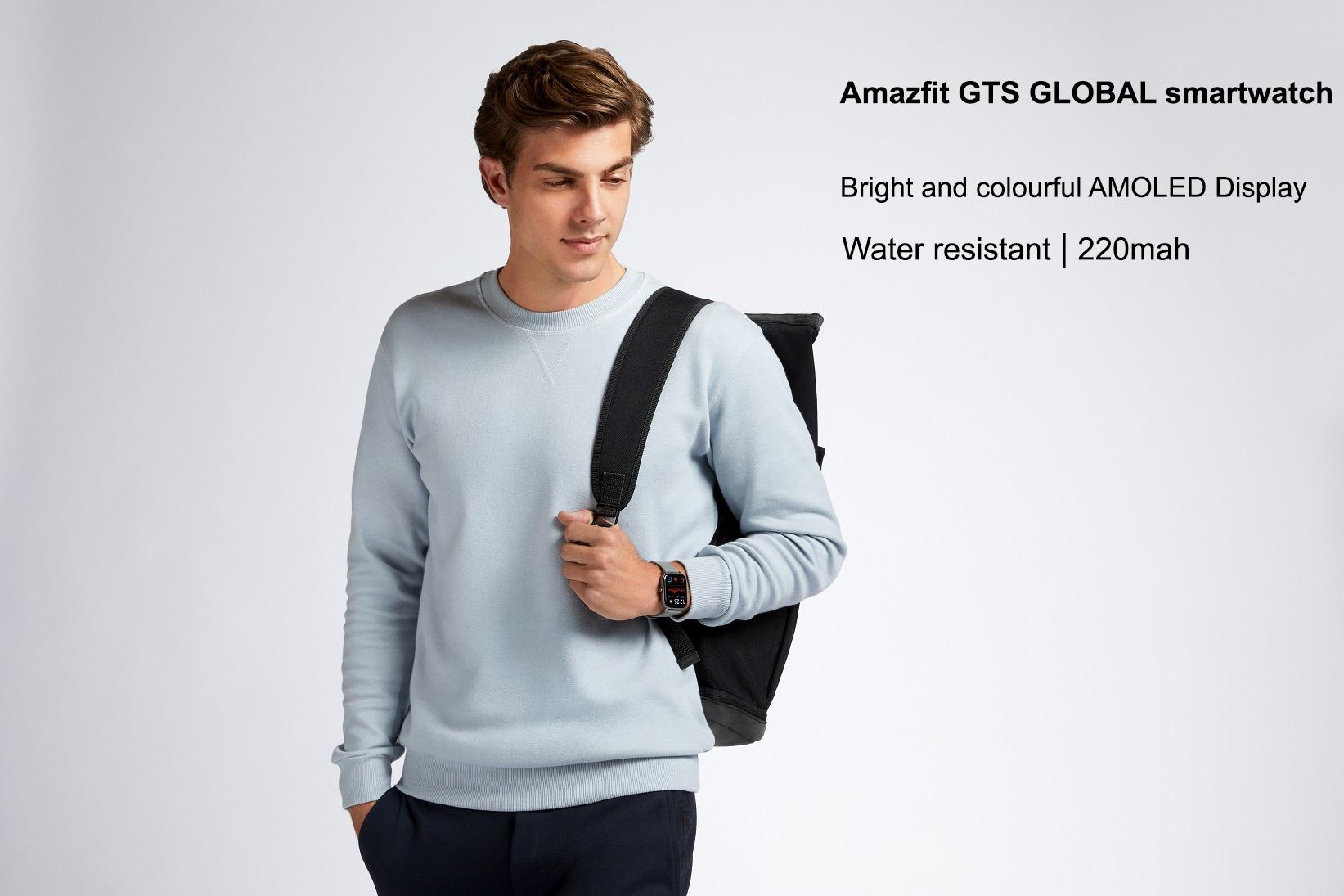 بررسی مشخصات ساعت هوشمند Huami Amazfit GTS