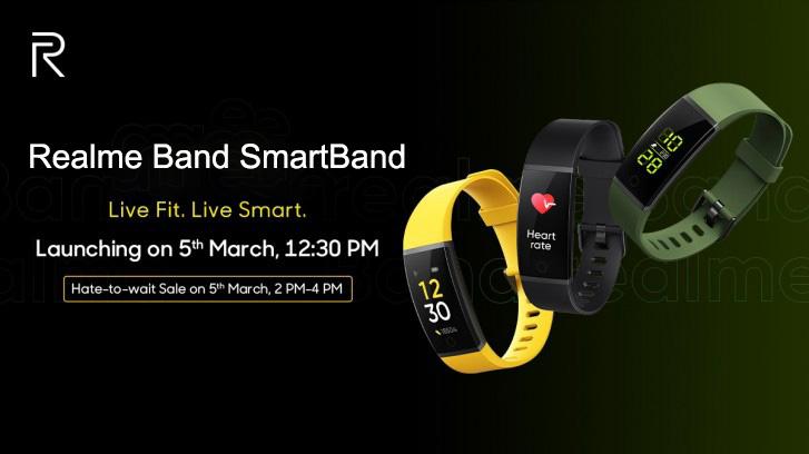 مشخصات دستبند هوشمند Realme Band