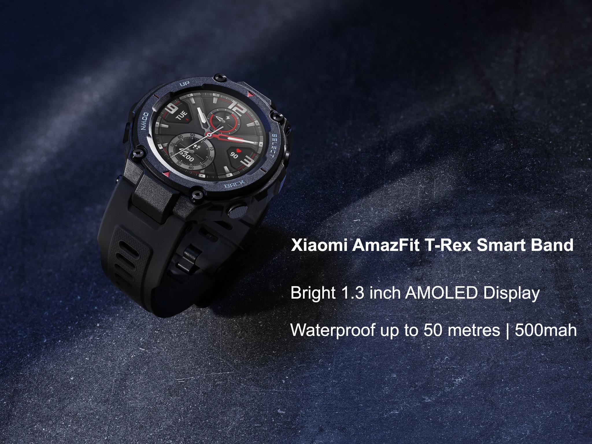 مشخصات ساعت Amazfit T rex