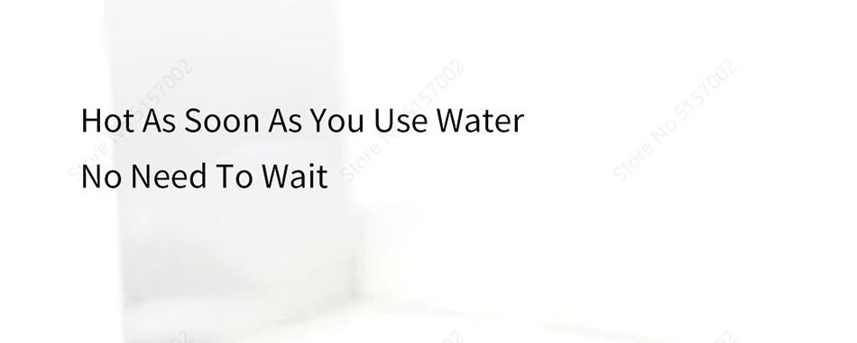شیر آب گرم شیائومی مدل Xiaoda pro با قابلیت آماده کردن اب داغ بدون منتظر ماندن