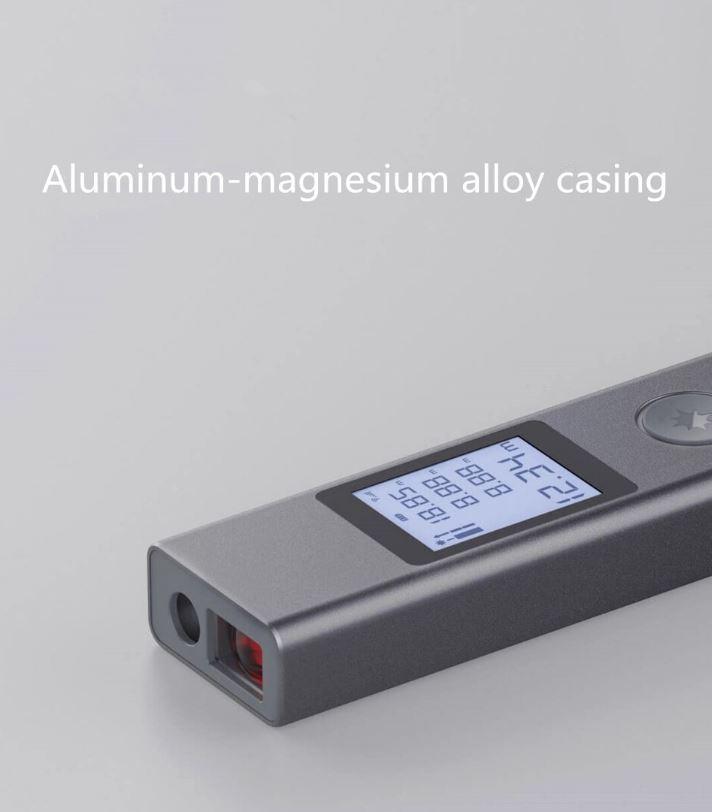 متر لیزری شیائومی ATuMan LS-P با بدنه ساخته شده از آلیاژ الومینیوم-منیزیوم