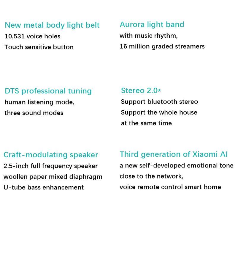 اسپیکر هوشمند بلوتوثی شیائومی مدل mi Art AI Smart L09G، تشکیل شده از بدنه فلزی با وزن سبک