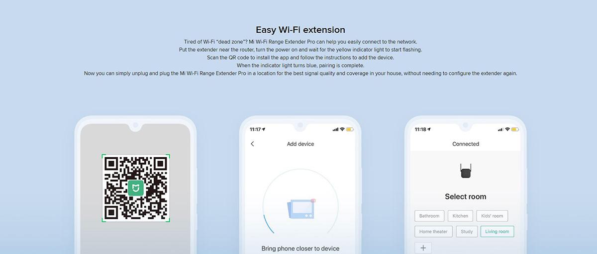 تقویت آنتن با وسعه دهنده وای-فای شیائومی (تقویت کننده آنتن وای-فای)