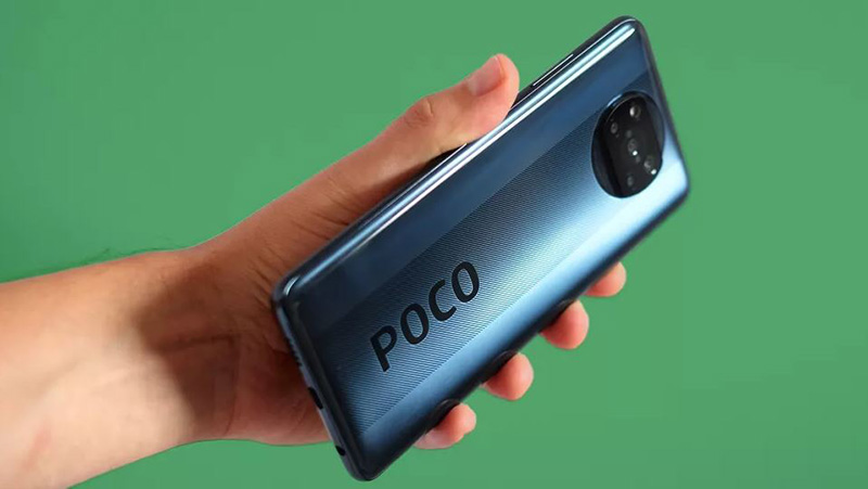 گوشی Poco X3 NFC مجهز به نمایشگر 6.67 اینچی