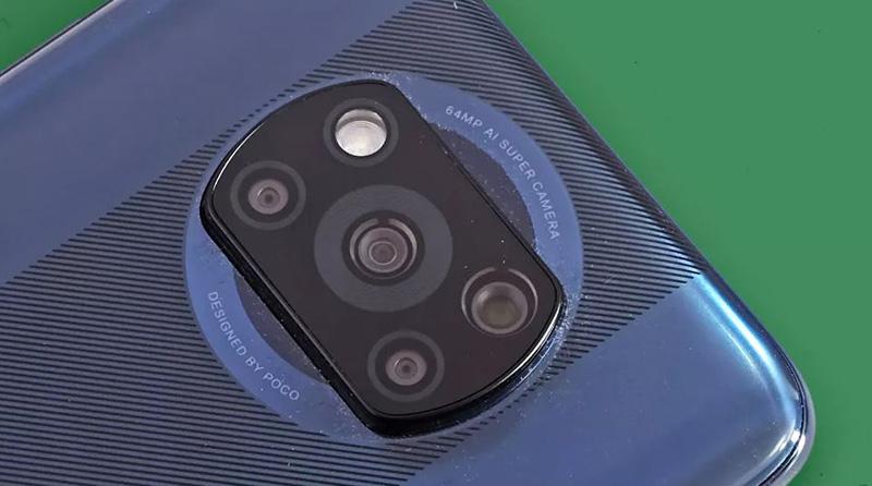 گوشی پوکو X3 ان اف سی با امکان عکاسی و فیلمبرداری در حالت شب