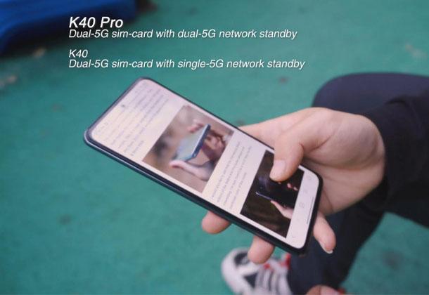 تفاوت های موجود بین گوشی ردمی K40  و ردمی K40 Pro