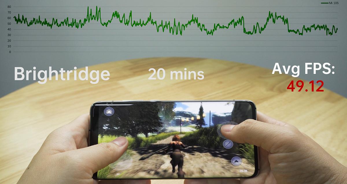 اجرای روان بازیهای روی گوشی موبایل شیائومی مدل Mi 10s