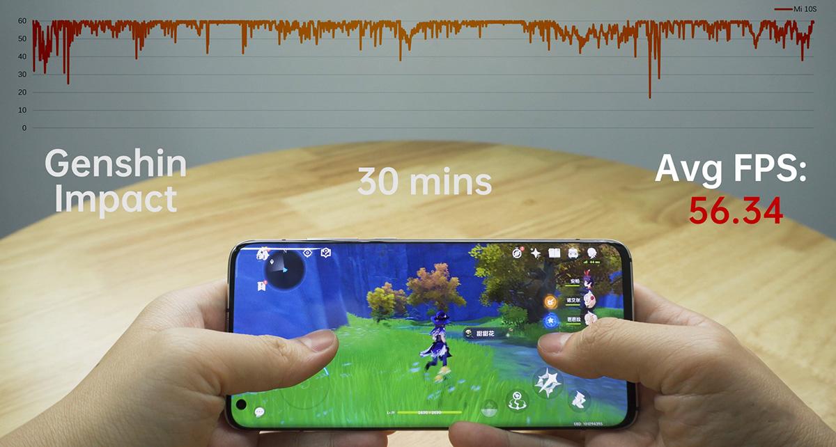 گوشی می 10 اس دارای رزولوشن +FHD و نرخ تازهسای 90 هرتز