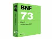 کد 1033- BNF  British National Formulary 73 2017