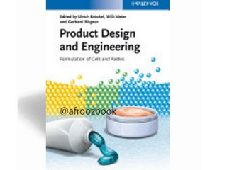 Cod 32205-  Product Design and Engineering: Formulation of Gels and Pastes