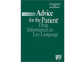 کد 35755- Advice for the Patient (USP DI: v.2 Advice for the Patient) 27th Edition