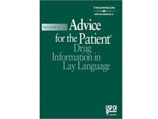 کد 35755- Advice for the Patient (USP DI: v.2 Advice for the Patient) 27th Edition