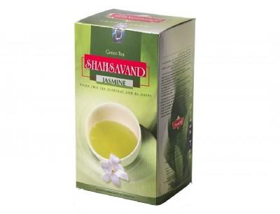 چای سبز جاسمین 454 گرمی شاهسوند