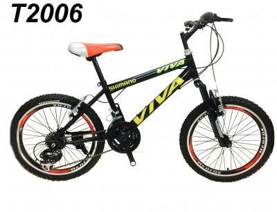 دوچرخه  دنده ای کمک فنر دار سایز 20 مدل T2006