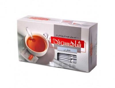 چای کیسه ای عطری شاهسوند ( 100 کیسه ای )