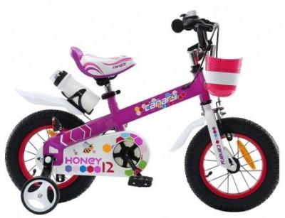 دوچرخه بچه گانه قناری سایز 12 Canary Honey با گارانتی  یک ساله و امکان پرداخت در محل