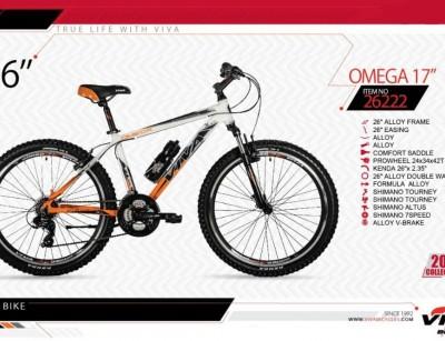 دوچرخه کوهستان ویوا مدل امگا کد 26222 سایز 26 -  VIVA OMEGA17