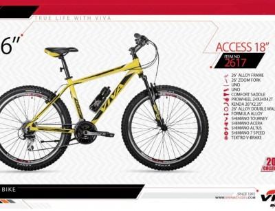 دوچرخه شهری -کوهستان ویوا مدل اکسس کد 2617 سایز 26 -  VIVA ACCESS 18 - 2019 Collection